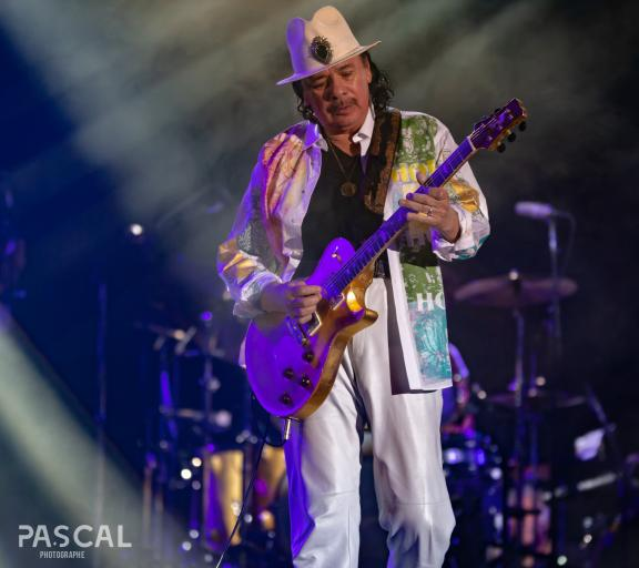 <b style='font-size:16px' > Santana Live At Jazz In Marciac 2018</b><span style='font-style:italic'>  ( Evenements : Santana Live @ Jazz In Marciac 2018 :  <i class='fa fa-copyright' aria-hidden='true'></i> Pascal Soumoulou  )</span>