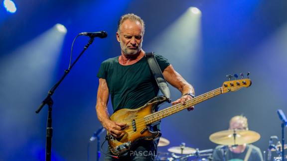 <b style='font-size:16px' > Sting My Songs Live At Jazz In Marciac 2019 </b><span style='font-style:italic'> ( Evenements : Sting My Songs Live @ Jazz In Marciac 2019 :  <i class='fa fa-copyright' aria-hidden='true'></i> Pascal Soumoulou  )</span>